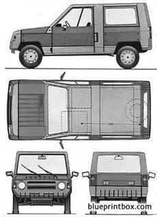 renault 5 rodeo 1983