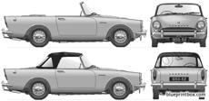 sunbeam alpine mki 1960