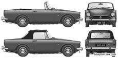 sunbeam alpine series v 1967