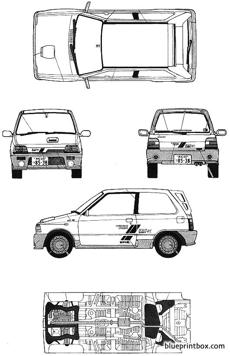 suzuki alto works rs x 1987