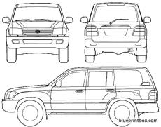 toyota land cruiser 100 2007