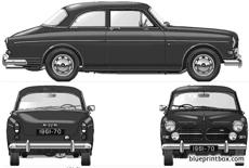 volvo 121 amazon 2 door 1968