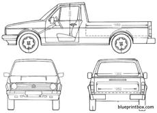 volkswagen caddy 1990