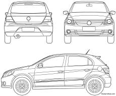 volkswagen golf 2009 2