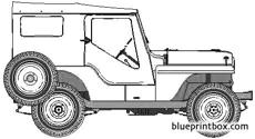 willis jeep cj 4 2