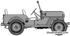 willis jeep cj 4 x98