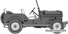 willis jeep cj 4