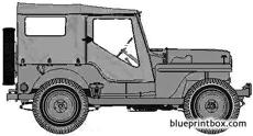 willis jeep cj 4m