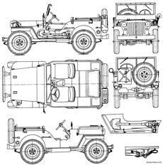 willys jeep 1