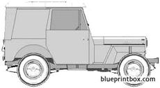 willys jeep dj3a delivery