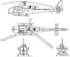 aerospatiale as 342gazelle
