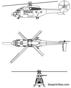 aerospatiale as 532 cougar