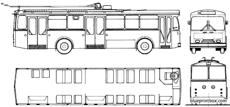 fbw trolleybus 1975