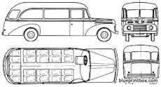 ford bus 1955