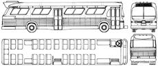 gmc greyhound bus 1959