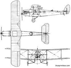 de havilland dh27 derby 1922 england