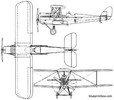 de havilland dh37 1922 england