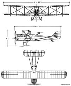 de havilland dh4b