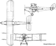 de havilland dh50 1923 england