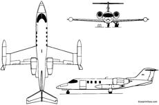 learjet 35 36 1973 usa