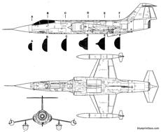 lockheed f 104 starfighter 2
