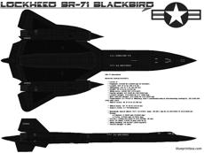 lockheed sr 71 black bird