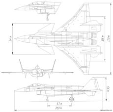mig 142 multifunctional fighter project