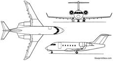 bombardier challenger 600  601  604 1978 canada