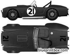ac cobra 289 version c 1964