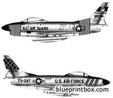 north american f 86d sabre dog
