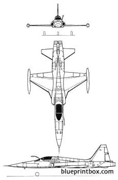 northrop f 5a freedom fighter 02