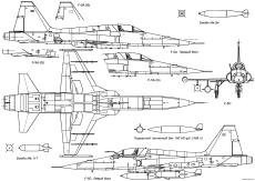 northrop f 5a freedom fighter 6