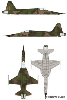 northrop f 5a freedom fighter
