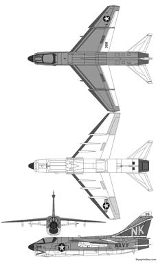 vought a 7 corsair ii 2