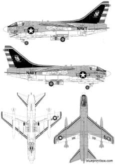 vought a 7b corsair ii 2