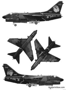 vought a 7p corsair ii