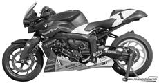 bmw k1200r powercup 2005