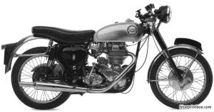 bsa goldstar dbd34 1960