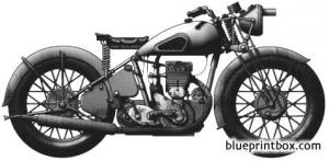 bsa wm 20 500cc 1942