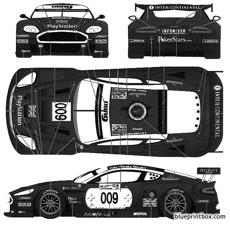 aston martin dbr9 lemans 2006 works no007 2