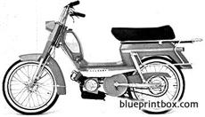 peugeot 104vbi moped