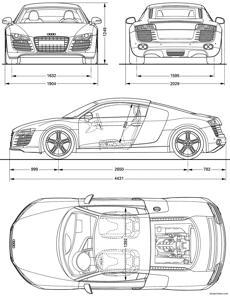 Amazing Audi R8 2008 2