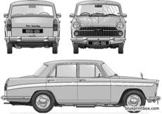 austin a60 cambridge mkii farina 1961