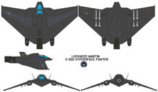lockheed martin x 302 hyperspace fighter