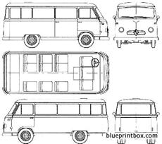 borgward b611 bus 1959