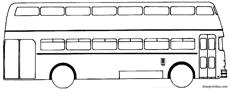 bussing bu e2 u55 double decker 1955