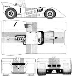 brm 154 can am 1970