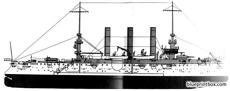 uss acr 3 brooklyn 1898 armoured cruiser 3