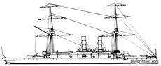 uss atlanta 1883 protected cruiser