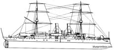 uss boston 1887 protected cruiser
